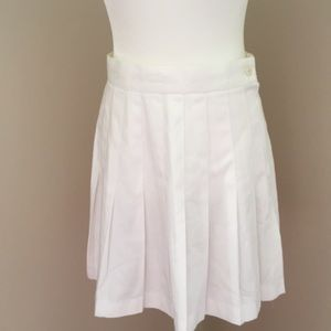 White tennis skirt by Express